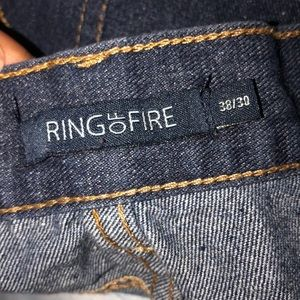 Ring of Fire Jeans - Ring of Fire Women's jeans (fringed)